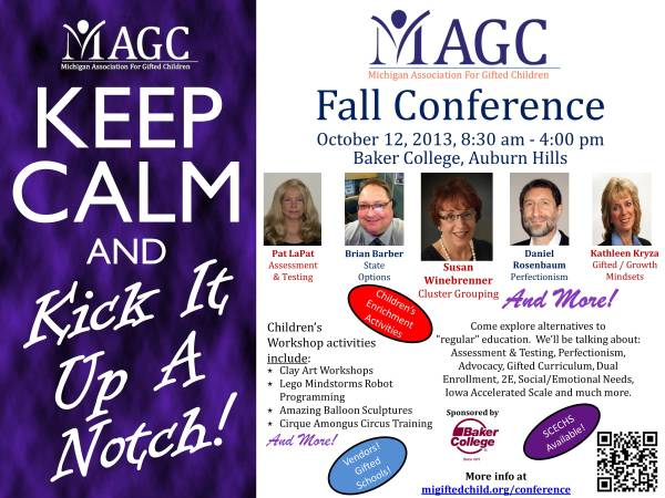 2013 Fall Conference Flyer